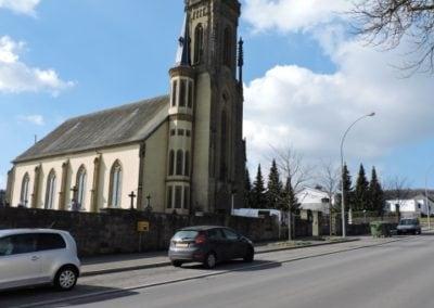 Eglise de Senningen, commune de Niederanven Luxembourg