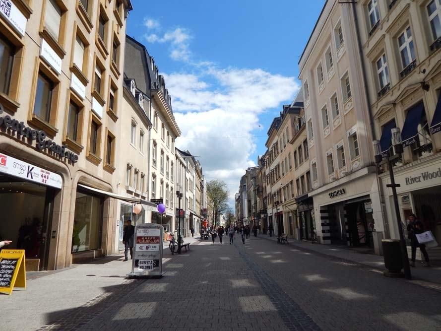 Quartier Centre Vieille Ville Luxembourg