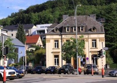 Place de l'Etoile Château de Septfontaines Quartier Rollingergrund Luxembourg