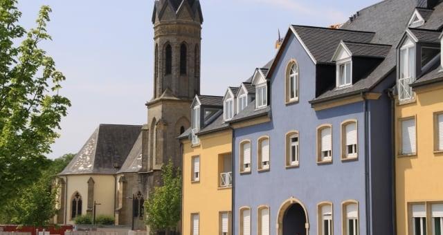 Bertrange town and municipality Luxembourg