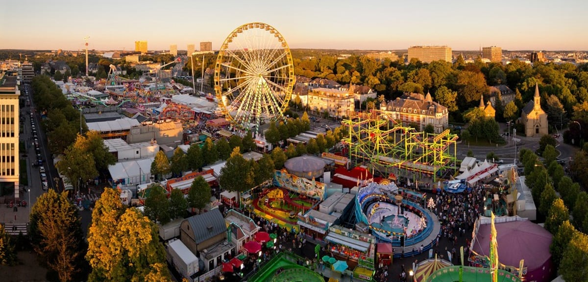 Schueberfouer, the most popular funfair in Luxembourg in a rather special edition in 2020