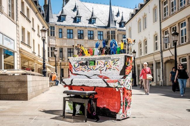 My Urban Piano Luxembourg