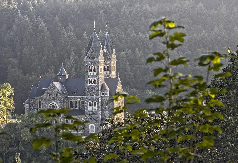 Parc Naturel de l'Our Eglise de Clervaux Luxembourg