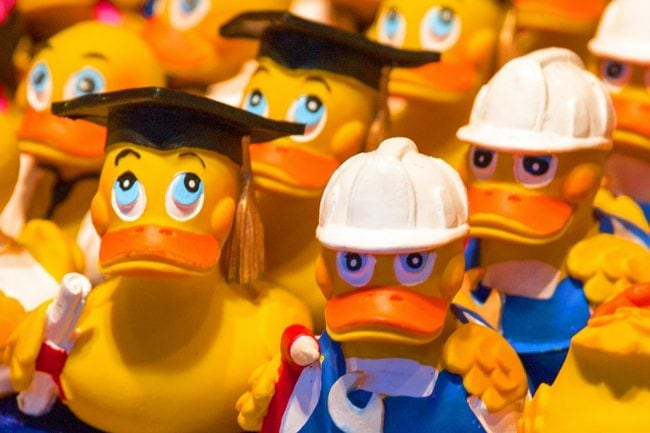 Duck Race in Luxembourg, a friendly event not to be missed!