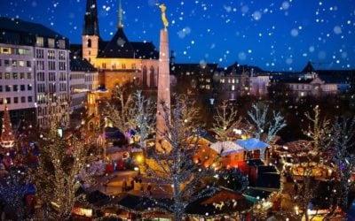 Animations des Fêtes de Noël et de l'Avent au Luxembourg