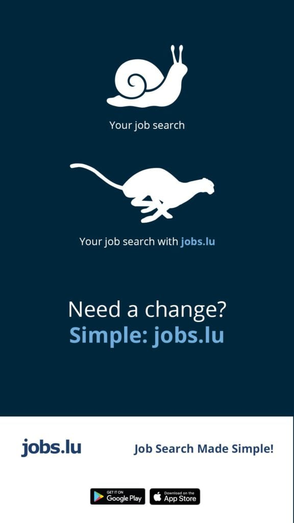 Jobs.lu, looking for a job in Luxembourg