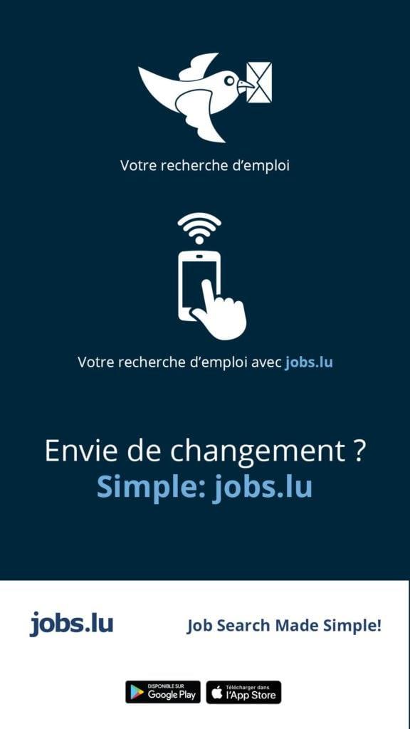 Jobs.lu chercher du travail Luxembourg