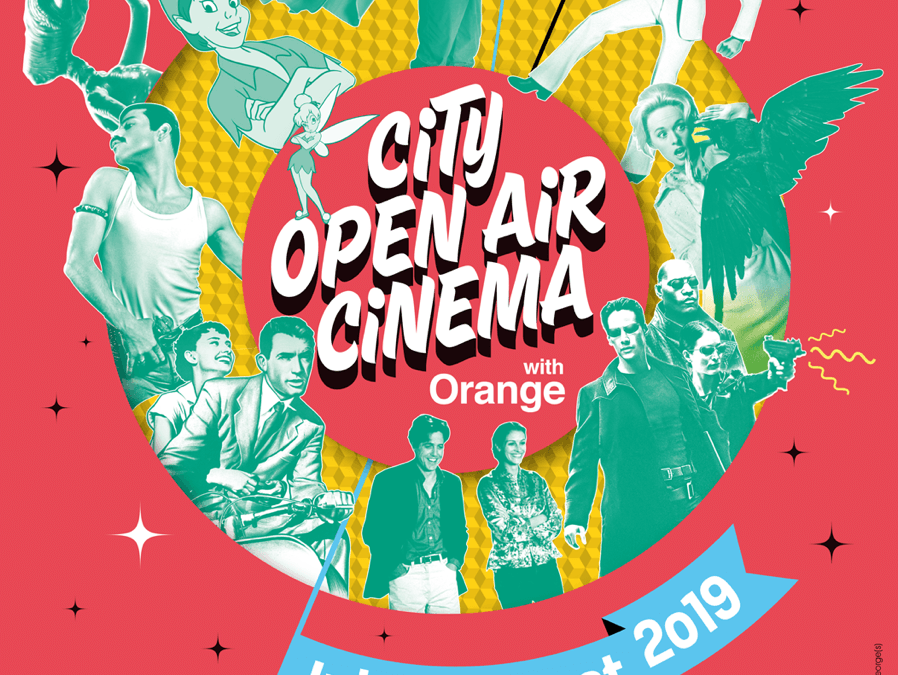City Open Air Cinema with Orange : le cinéma sous les étoiles