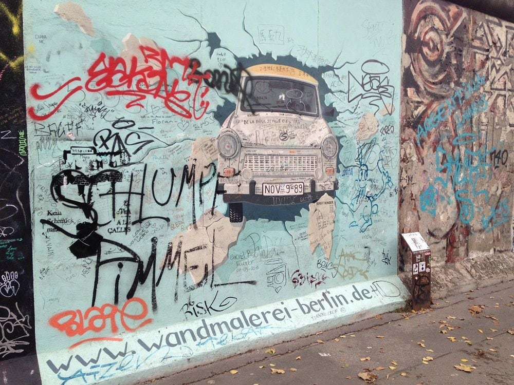 Thirty years ago, the Berlin Wall fell…