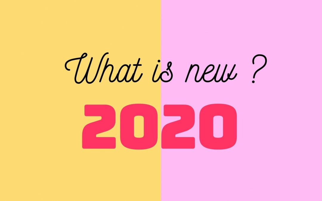 What is new in 2020, new regulation in Luxembourg