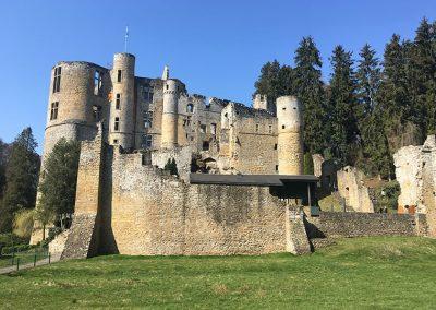 Visiter le château de Beaufort Luxembourg