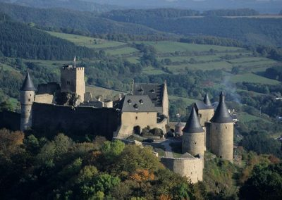 Visiting castles Luxembourg
