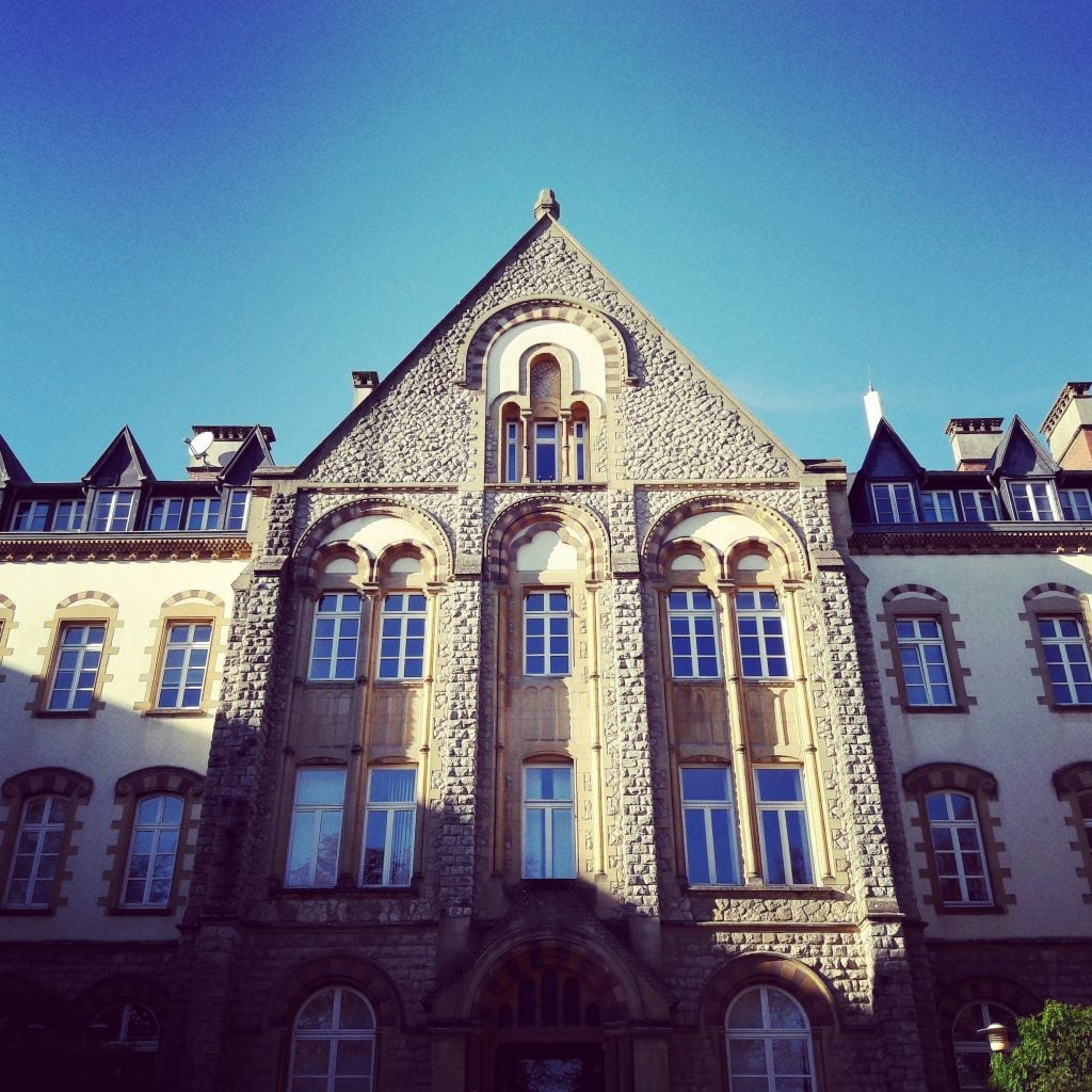 University of Luxembourg Limpertsberg