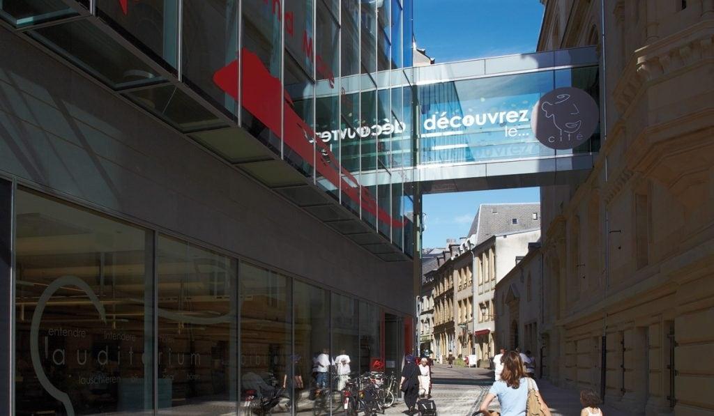 Cercle des Cités Bibliothèque Mediathèque Centre culturel Luxembourg