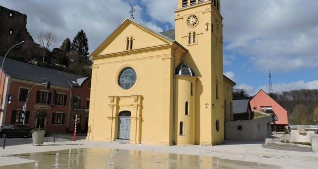Eglise de Hespérange, commune au Luxembourg