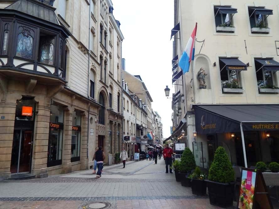 Rue du Centre de Luxembourg
