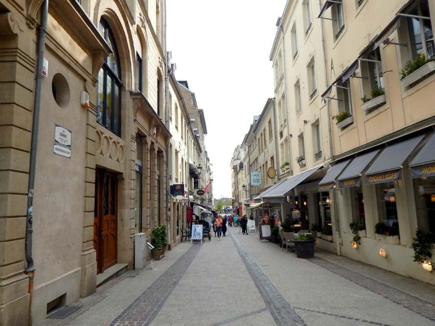 Rue du Quartier Centre Luxembourg