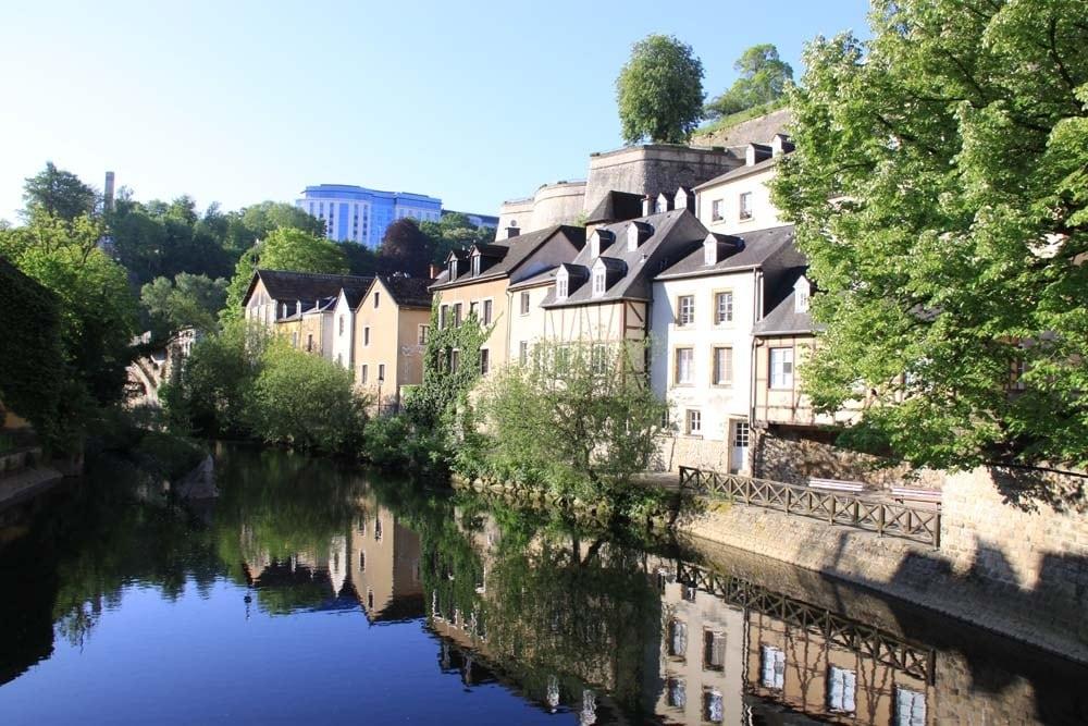 Vue du Grund Luxembourg