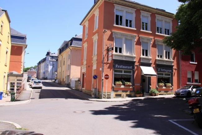 Restaurant quartier Pulvermühl Luxembourg