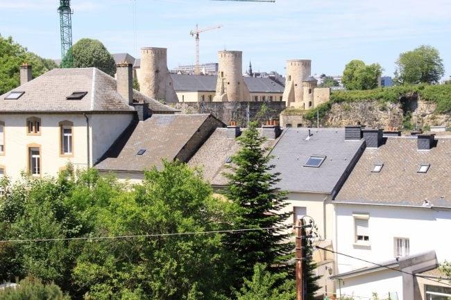 Vue du quartier Pulvermuhl Luxembourg