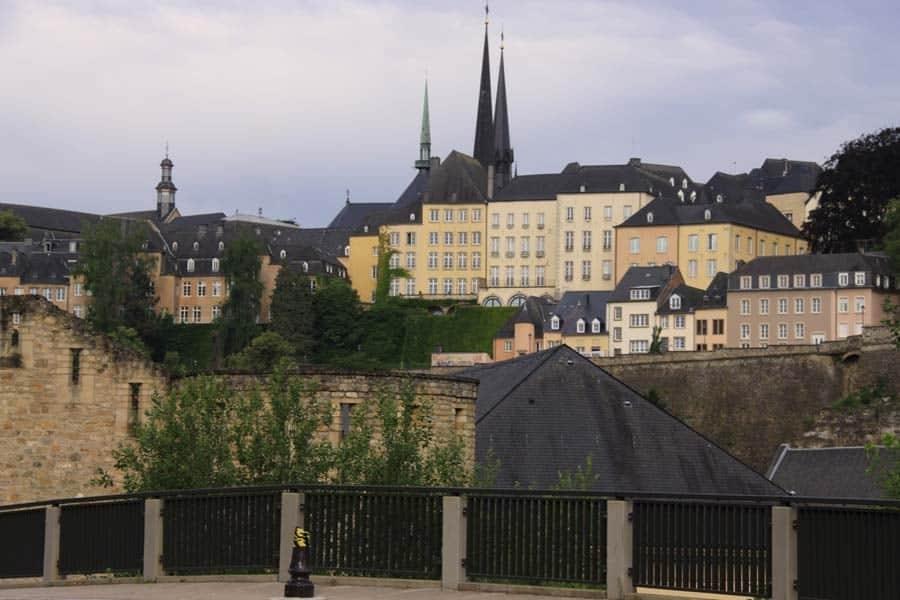 Vue de la Vieille Ville Luxembourg
