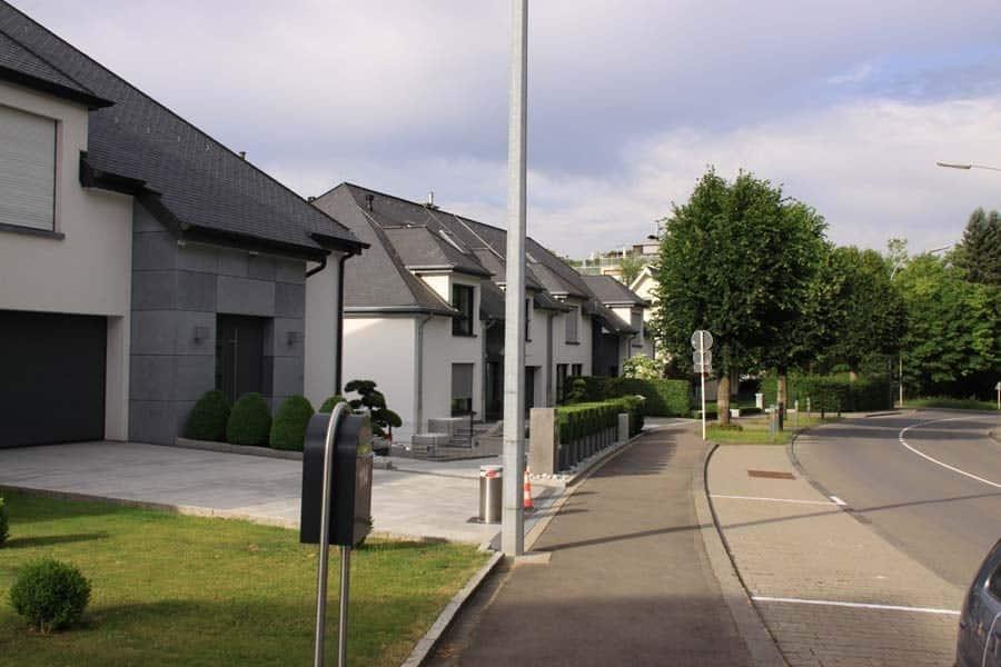 Vue d'une Rue de Cents Luxembourg