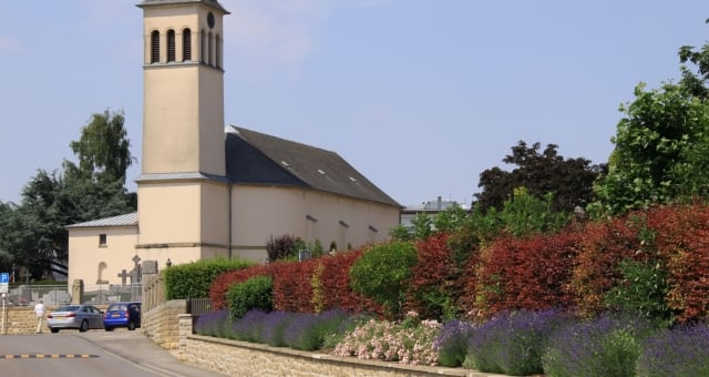 Eglise de Strassen, commune de Luxembourg
