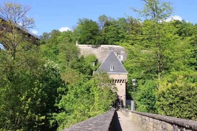 Porte des Bons Malades Pfaffenthal Luxembourg