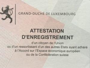 Se Domicilier Au Luxembourg Inscription Au Registre De La Population