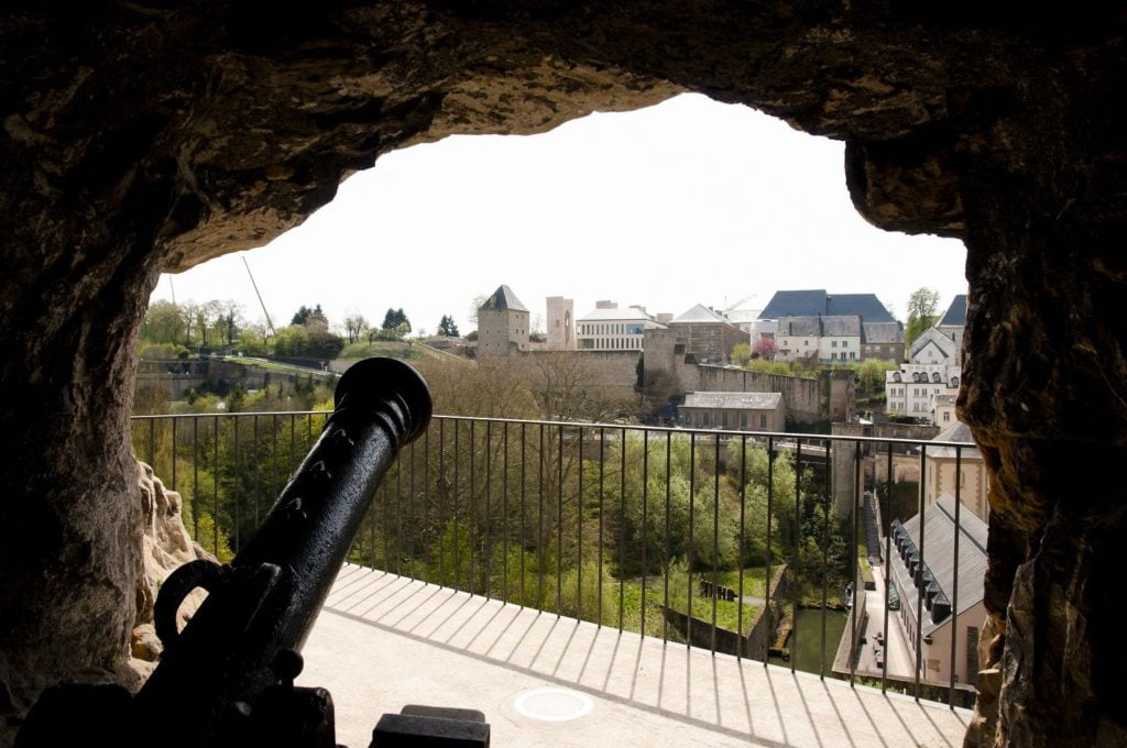 Rocher du Bock Luxembourg