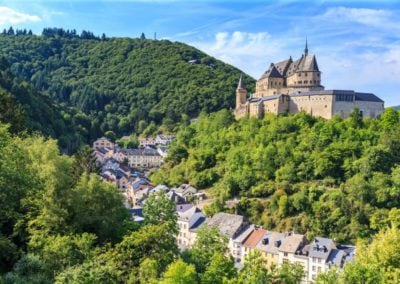 Chateau Vianden Luxembourg