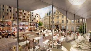 Project Hamilius Shopping Center Luxembourg