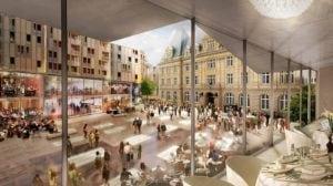 Projet centre commercial Hamilius Luxembourg