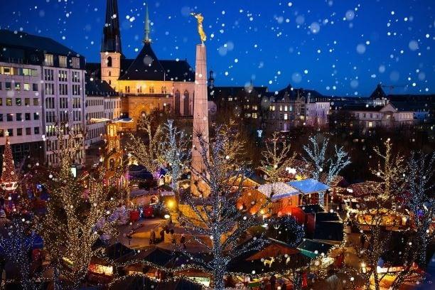 Marchés de Noel et de l'Avent au Luxembourg