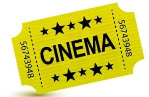 Go to the cinema to watch a film