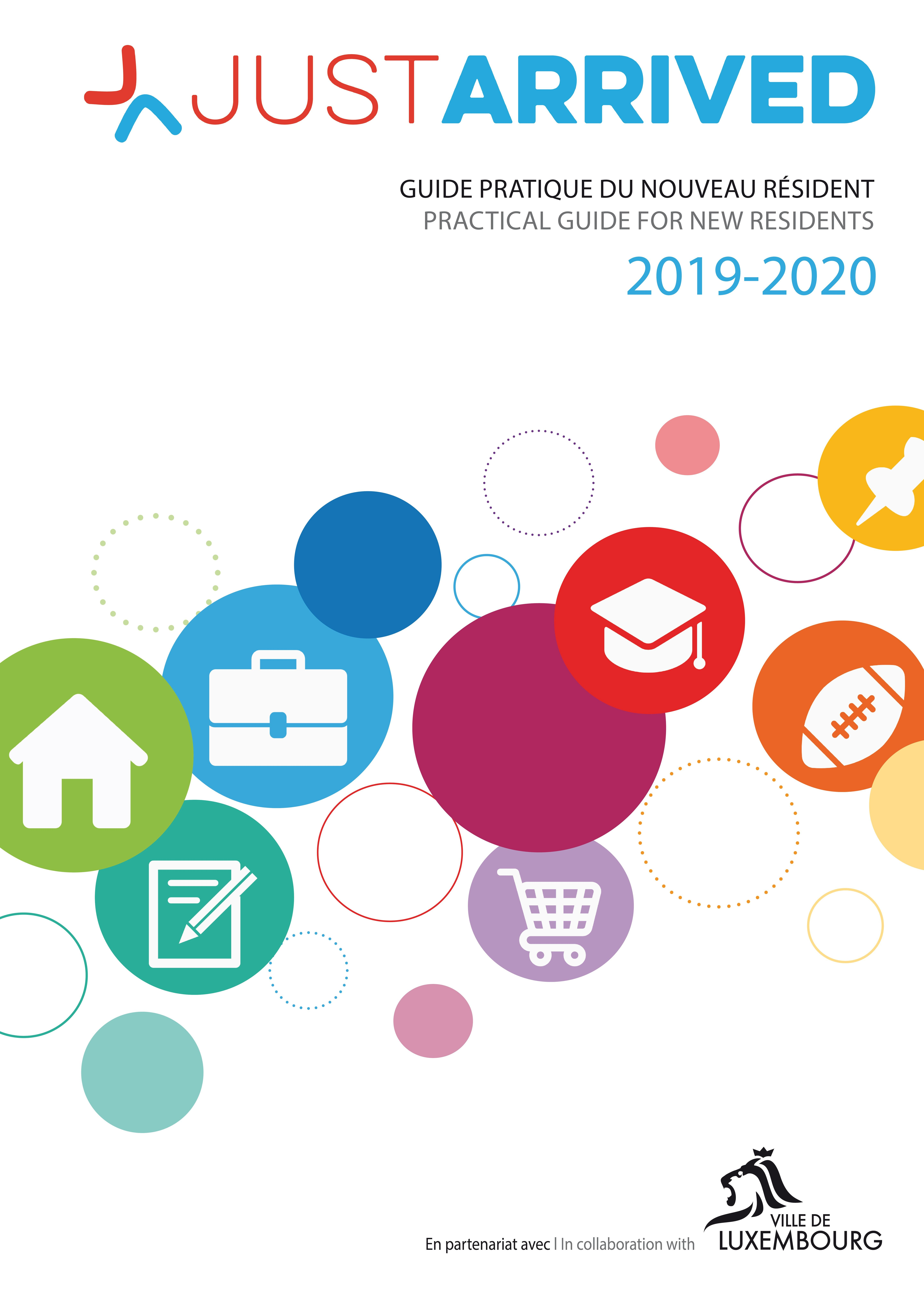 Guide Just Arrived Luxembourg Edition 2019-2020