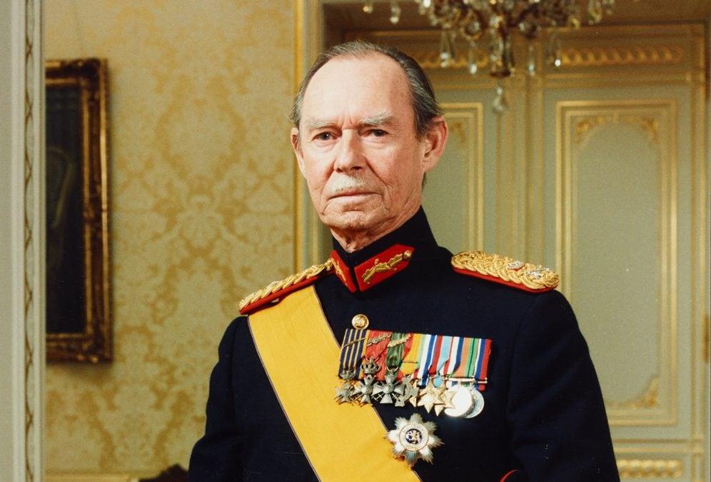 Décès du Grand-Duc Jean Luxembourg