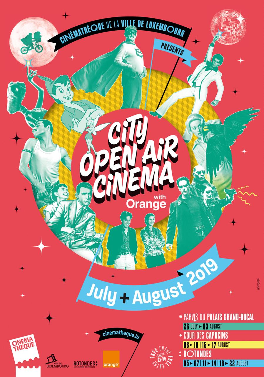 City Open Air Cinema with Orange
