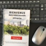 Customizable company welcome booklet Luxembourg