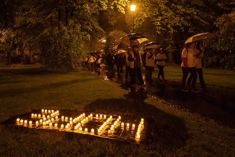 Darkness Into Light Luxembourg