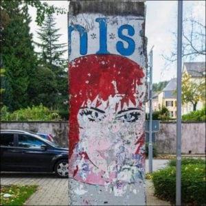 Morceau du mur de Berlin à Schengen Luxembourg
