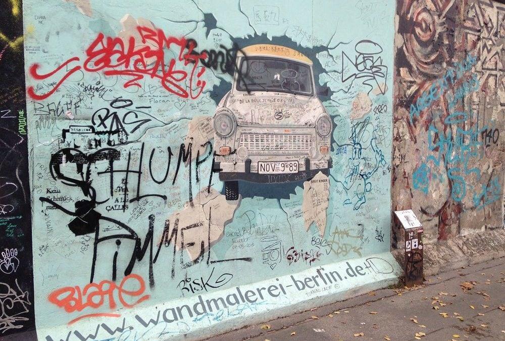 Il y a 30 ans, le Mur de Berlin tombait…