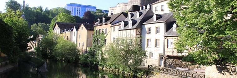 Vivre et sortir dans le quartier du Grund, Gronn, Luxembourg