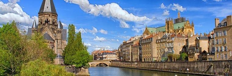 Visiter Metz, Nancy depuis le Luxembourg, activités en France