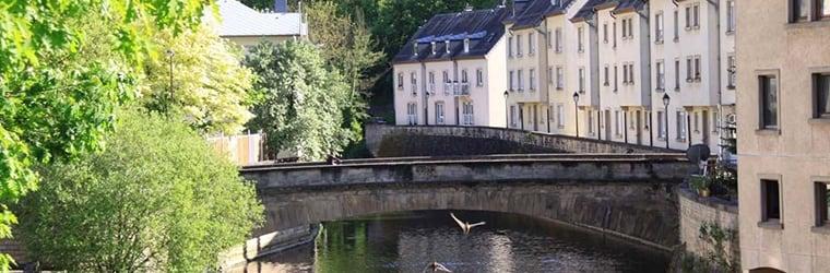 Vivre dans le quartier du Pfaffenthal, se promener à Luxembourg