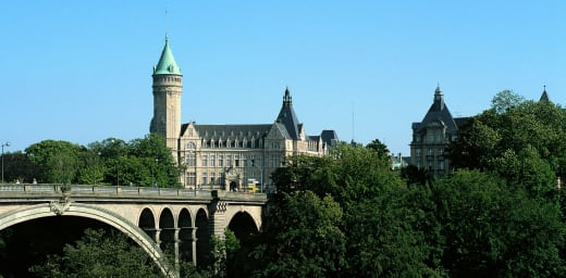 Bank account in Luxembourg, banking institutions