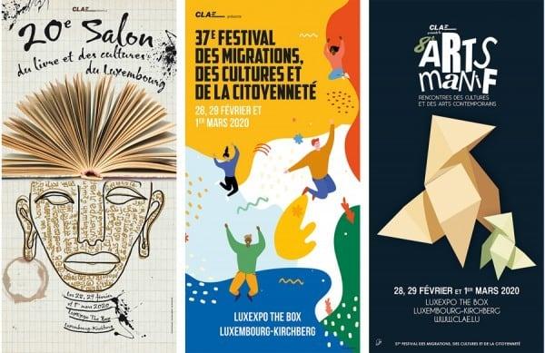 Festival des Migrations, Salon du Livre et Arts Manif