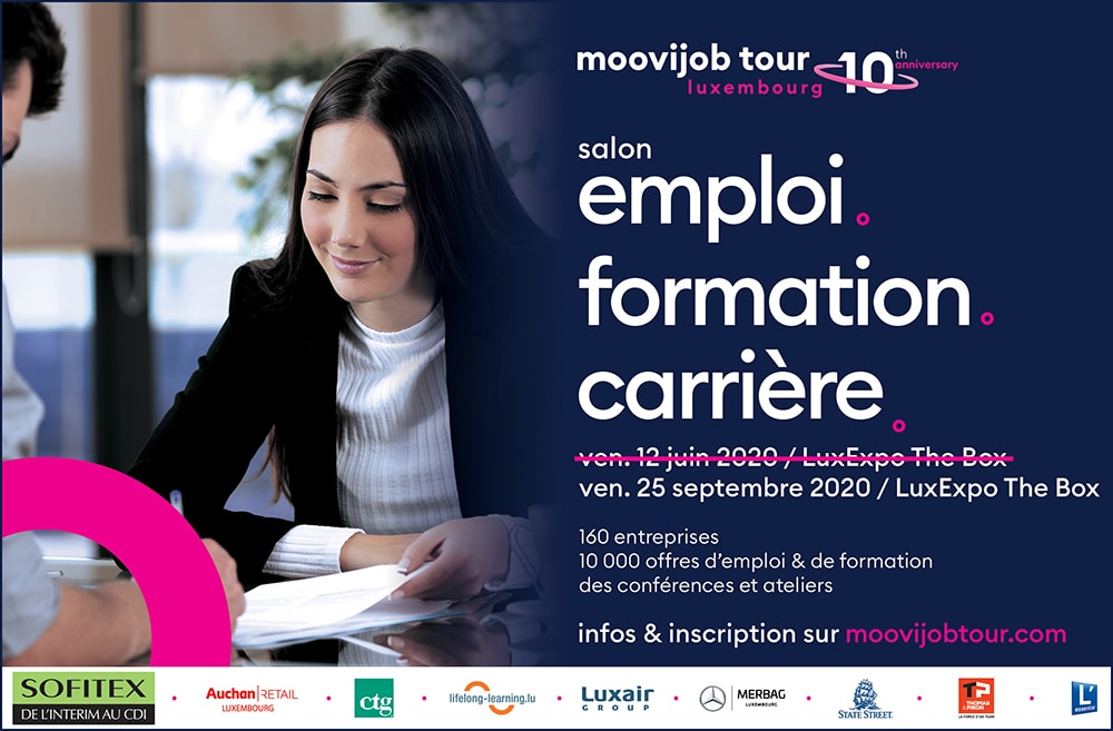 Moovijob Job Fair Luxembourg 2020