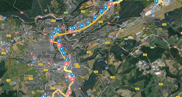Point sur les travaux du tramway Findel Cloche d'Or