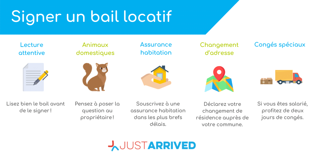 Signer un bail locatif